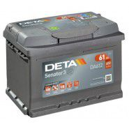 Deta Senator 3 automotive battery 12V 61Ah 600A, AK-DA612