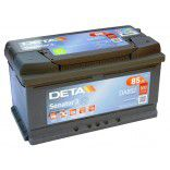 Deta Senator 3 automotive battery 12V 85Ah 800A, AK-DA852