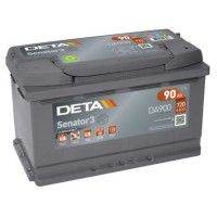 Deta Senator 3 automotive battery 12V 90Ah 720A, AK-DA900
