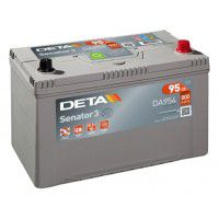 Deta Senator 3 automotive battery 12V 95Ah 800A, AK-DA954