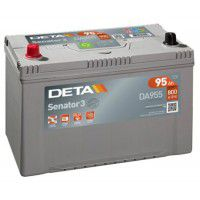 Deta Senator 3 automotive battery 12V 95Ah 800A, AK-DA955L