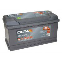 Deta Senator 3 automotive battery 12V 100Ah 900A, AK-DA1000