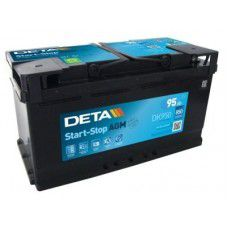 Deta Start-Stop AGM (Absorbed Glass Mat) AK-DK950 12V 95Ah 850A Deep-cycle battery with Deep Discharge for marine, solar, UPS, sail boat, motorboat, motorhome