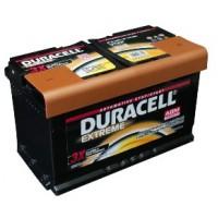 Duracell Extreme AGM (Absorbed Glass Mat) 12V 80Ah 800A automotive battery AK-DU-DE80AGM