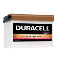 Duracell Extreme EFB (Enhanced Flooded Battery) 12V 75Ah 730A automotive battery DU-DE75HEFB