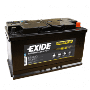 Exide Marine & Multifit Equipment Gel AGM (Absorbed Glass Mat) ES900 12V 80Ah 540A Deep-cycle battery with Deep Discharge for marine, solar, UPS, sail boat, motorboat, motorhome