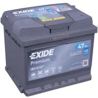 Exide Premium AK-EA472 12V 47Ah 450A AKB automotive battery