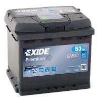 Exide Premium AK-EA530 12V 53Ah 540A AKB automotive battery