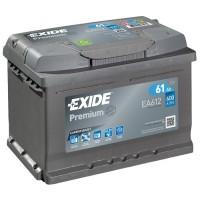 Exide Premium AK-EA612 12V 61Ah 600A AKB automotive battery