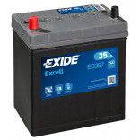 Exide Excell AK-EB357L 12V 35Ah 240A automotive battery