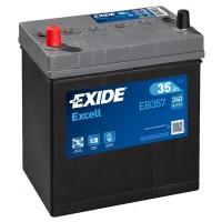 Exide Excell AK-EB357L 12V 35Ah 240A automotive battery