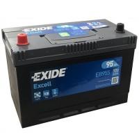 Exide Excell AK-EB955L 12V 95Ah 720A automotive battery