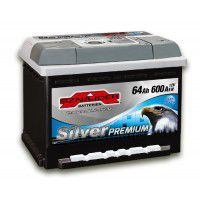 Sznajder Silver Premium AK-SSP56445 12V 64Ah 600A AKB automotive battery