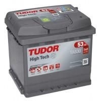 Tudor High Tech automotive battery 12V 53Ah 540A, AK-TA530