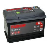Tudor Technica 12V 74Ah 680A, AK-TB741L automotive battery