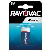 Rayovac 9V 6LR61/ MN1604 1.5V Alkaline batteries blister 4 pc.