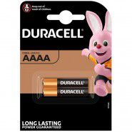 Duracell AAAA 1.5V (MX2500/E96; LR8D425) Alkaline baterijas, 2 gab.
