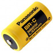 Panasonic Industrial BR-C (C / LR14 / MN1400) 3V lithium battery, 1 pc. bulk. Made in Japan.