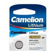 Camelion CR1216 / DL1216 / 5034LC / E-CR1216 3V lithium electronics battery, 1 pc.