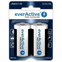 Everactive Pro Alkaline LR20/D 1.5V batteries blister, 2 pc.