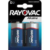 Rayovac D LR20/ MN1300 1.5V Alkaline batteries blister 2 pc.