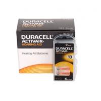 10x komplekts: Duracell Activair 13 PR48 1.4V Hearing Aid Zinc-Air baterijas dzirdes aparātiem, ražots Vācijā, 60 gab.