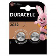 Duracell 2032 DL2032 / CR2032 ECR2032 3V 225mAh Lithium baterija 2 gab. (best before: 2027)