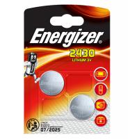 Energizer 2430 / CR2430 3V 320mAh litija baterijas 2 gab.
