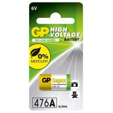 GP 476A / 4LR44 / L1325F / A544 / 28A 6V Alkaline baterija (Nikon foto baterija)