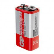 GP Powercell Heavy Duty Zinc 9V / krona / 6LR61 / MN1604 / 1604E / 6F22 battery, 1 pc.