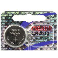 Maxell Hologram CR2032/DL2032/ECR2032 3V 220mAh lithium battery (made in Japan), 1 pc.
