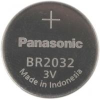 Panasonic BR2032 / CR2032 / DL2032 3V 200mAh lithium battery, bulk, BR2032/BN, 1 pc.