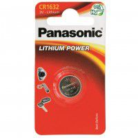 Panasonic CR1632 / DL1632 3V 140mAh 0%Hg lithium battery