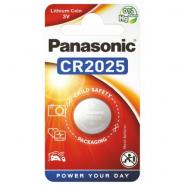 Panasonic CR2025/DL2025/ECR2025 3V 165mAh 0%Hg lithium battery, 1 pc.