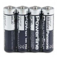 Panasonic Powerline Industrial Alkaline AA / LR6 / MN1500 1.5V battery, 4 pc., bulk