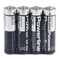 Panasonic Powerline Industrial Alkaline AA / LR6 / MN1500 1.5V battery, 4 pc., bulk