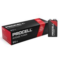 Duracell Procell Alkaline Intense Power 9V/6LR61/6LF22/MN1604 battery, 10 pc.