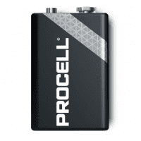 Duracell Procell Professional Alkaline 9V/6LR61/6LF22/MN1604 battery, 1 pc.