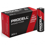 Duracell Procell Alkaline Intense Power AA/LR06/MIGNON/MN1500 1.5V 3112mAh battery (Price is for 1 pc., buying 10 pc.)