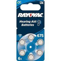Rayovac Acoustic Special 675 1.45V 0%Hg baterijas dzirdes aparātiem (Hearing Aid, dzirdes aparātu baterijas)