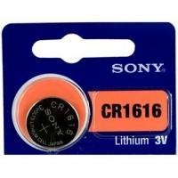 Sony CR1616 3V 60mAh litija elektronikas (electronics) baterija 1 gab. (ražots Japānā)