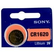 Sony CR1620 3V 80mAh litija elektronikas (electronics) baterija 1 gab. (ražots Japānā)