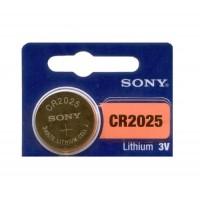 Sony CR2025 / DL2025 / 2025 / ECR2025 3V 160mAh Litija baterija 1 gab.