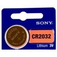 Sony CR2032 3V 220mAh litija elektronikas (electronics) baterija 1 gab.