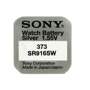 Sony 373 / SR916SW 1.55V 30mAh 0% Hg Silver oxide baterija (Ražots Japānā)