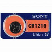 Sony CR1216 / DL1216/ ECR1216 3V 30mAh litija elektronikas (electronics) baterija 1 gab. (ražots Japānā)