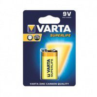 Varta Superlife 9V / 6LR61 / 6LF22 / MN1604 Zinc-Carbon battery blister 1 pc.