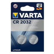 Varta CR2032 / DL2032 / ECR2032 3V Lithium electronics batteries, 2 pc.