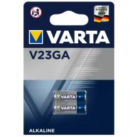 Varta V23GA/ A23/ 8LR932/ MN21/ 23A 12V 52mAh Alkaline battery, 2 pc.
