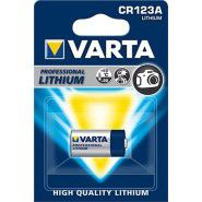 Varta CR123 123 DL123A/CR123A EL123A CR17345 Lithium 3V Litija foto baterija (Non-rechargeable), blister 1 gab.